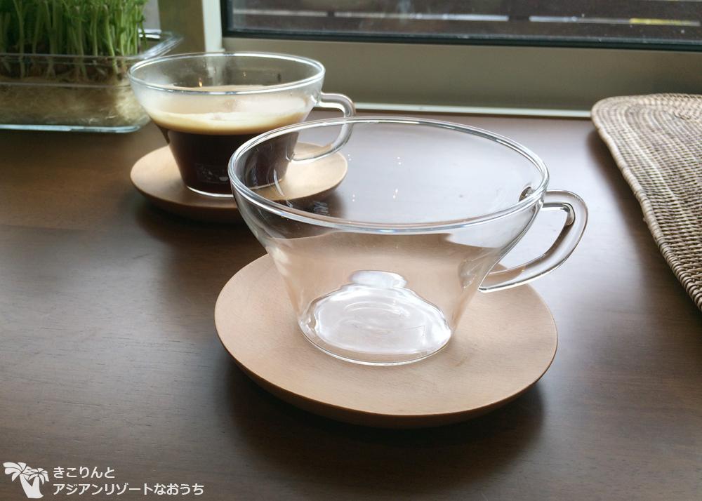 お気に入り、KEYUCAの耐熱ガラスカップ