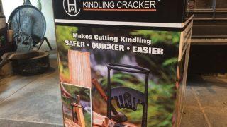 薪ストーブの焚き付けやキャンプ用の薪づくりに便利!キンドリングクラッカー