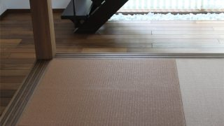 【WEB内覧会】バリ島の東屋(バレ)をイメージした和室 insideリビング(入居前)