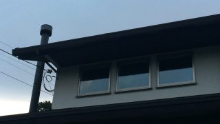 建築時にできる窓の下の雨だれ対策と、3年経った我が家の外壁