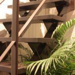 【WEB内覧会】夏と冬で雰囲気の変わる階段 insideリビング(入居後)