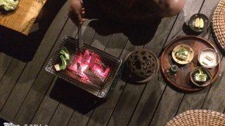 ウッドデッキで焼き肉、そしてまたまたダッチオーブンで燻製♪