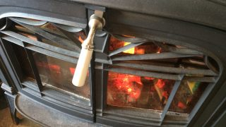 薪ストーブの煙突からの煙、実際のところ