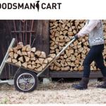 庭に置いていて絵になる運搬車、FIRE SIDEのウッズマンカート