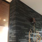 手張りのタイル壁は、職人さんの腕もだけどセンスが重要なのかもしれない。