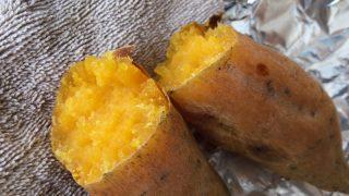 「あさイチ」の焼き芋と薪ストーブの焼き芋。サツマイモって掘ってすぐはダメなんですね。